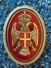 REPUBLIC of SRPSKA ARMY, VOJSKA REPUBLIKE SRPSKE - VRS, NCO's CAP BADGE !