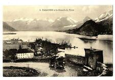 CPA 74 Haute-Savoie Talloires et la Chapelle du Toron animé voiture
