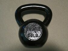 Yes4All 35LB Solid Cast Iron Kettlebell