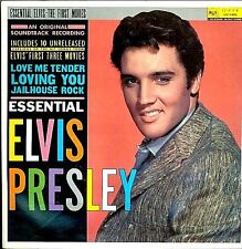 "ELVIS PRESLEY ""ESSENTIAL ELVIS-THE FIRST MOVIES"" PREMIUM QUALITY USED LP (NM/NM)"
