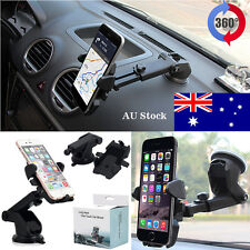 Universal 360° Rotation Car Holder Windshield Mount Cradle For Mobile Phone GPS