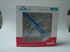 Herpa Wings B777-300er KLM National Park Tierra del Fuego - 506281-001, 1/500