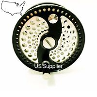 FMO Fly Reel SALE!!  Classic Click Drag CNC Machined Mid Arbor Full Cage 5/6wt