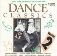 Dance Classics 2 (Arcade, 1991) Patrick Hernandez, Carl Douglas, Joe Bata.. [CD]