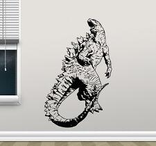 Godzilla Wall Decal Monster Movie Vinyl Sticker Poster Kid Art Decor Mural 93zzz