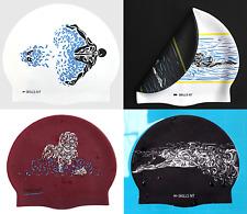 Swimming Caps Strokes- High Quality Silicone, Unique Designs, Unisex- SkillsNT