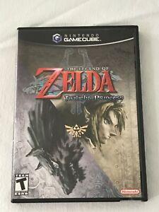 The Legend of Zelda: Twilight Princess (Nintendo GameCube) Complete W/ Manual