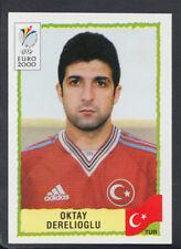 Panini UEFA Euro 2000 Football Sticker - No 161 - Oktay Derelioglu (S662)