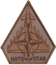 NATO Enhanced Forward Presence Eurofighter Typhoon Desert Embroidered Patch
