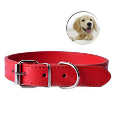 11Colors Pu Leather Pet Dog Cat Collars Small Pet Puppy Neck Strap Cheap Collar