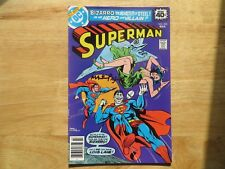1979 VINTAGE SUPERMAN # 333 BIZARRO SIGNED BY MARTY PASKO, WITH POA