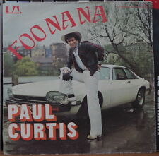 PAUL CURTIS FOO NA NA CAR COVER FRENCH SP UNITED ARTISTS RECORDS 1976
