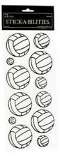 Volleyball Volleyballs Balls Game Match Team Play Glitter Paper Studio Stickers