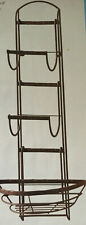 "Home Interior- ""Sienna Towel Bar/Basket Rack""-New in Box"