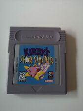 Kirby's Star Stacker Game Boy USA