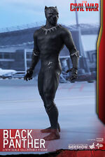 "Hot Toys Captain America: Civil War BLACK PANTHER 12"" Figure 1/6 Scale MMS363"
