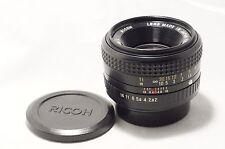 Ricoh XR Rikenon 50mm F2 L for Pentax PK