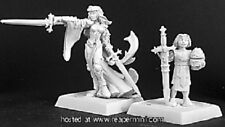 Reaper Warlord Crusaders Kristianna & Squire Pack (New) (Sealed)