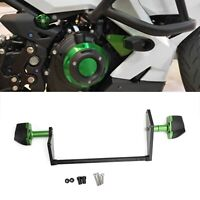 Green Crash Pads Engine Sliders Protector For Kawasaki Ninja 250 400 18-2020 AU