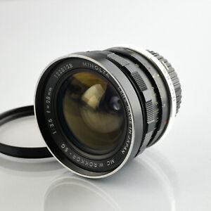 Minolta MC Rokkor SG 28mm f3.5 1:3,5 Lens