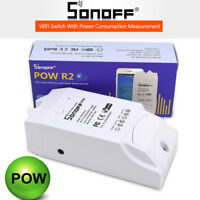 Sonoff Pow R2 16A Wifi Monitor Switch Control With Real Time Power Consumption