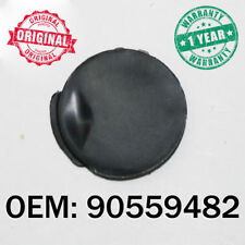 Black Tow Hook Cover Eye Cap Insert Front Bumper For Opel Vauxhall Astra H 03-07