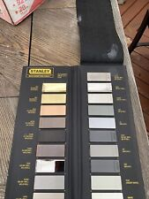 Stanley Finish Display Color Options