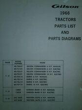 gilson outdoor power equipment manuals guides ebay rh ebay com Bobcat Wiring Diagram Gravely Wiring Diagrams