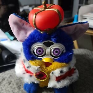 1998 Vintage Royal King Furby Limited Edition SOLD AS IS Read