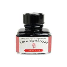 J.Herbin Fountain Pen Ink - 30ml bottle - Corail des Tropiques
