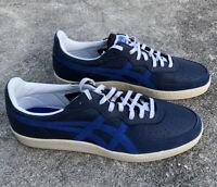 ASICS Onitsuka Tiger D7E2K Blue Leather Sneakers Mens Size 12