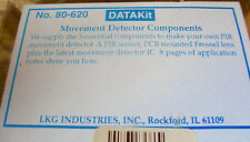 DataKit PHILMORE LKG 80-620 Movement Detector Component KIT DIY