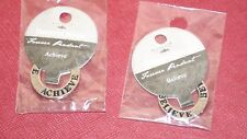 *New* Deseret Book Forever Pendant Lot of 2 Believe & Achieve LDS Mormon