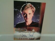 woman of star trek a1 Denise Crosby rare large card