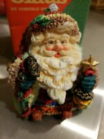 "1996 Possible Dreams Crinkle Claus Santa, ""The Starlight Traveler"" 952201 NIB"