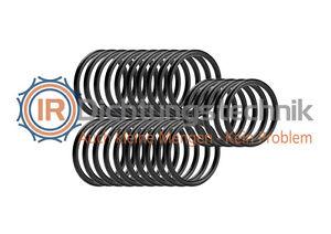 O-Ring Nullring Rundring 9,52 x 1,78 mm NBR 70 Shore A schwarz (25 St.)