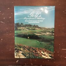 1988 Golf's Magnificent Challenge by Robert Trent Jones Signed by Larry Dennis