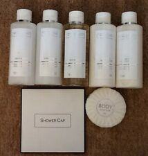 The White company Toiletries Shampoo/Conditioner/Body Lotion/soap/shower Cap
