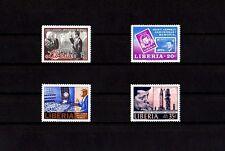 LIBERIA - 1964 - JOHN F KENNEDY - JFK - PRESIDENT - STAMPS - 4 X MINT - MNH SET!
