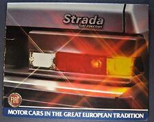 1981 Fiat Strada Sales Brochure Folder Excellent Original 81