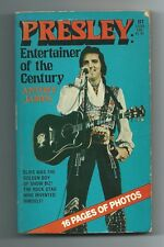 PRESLEY: ENTERTAINER OF THE CENTURY by Anthony James (Belmont tower PB,1977) 1st