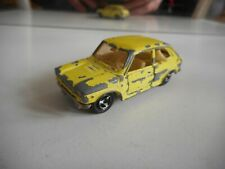 Majorette Fiat 127 in Yellow