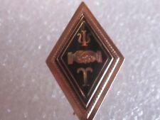 Antique 14k Solid Gold Psi Upsilon Fraternity Pin Badge