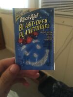 Extremely Rare Canadian Blast Offs Kool Aid Packet Vintage