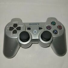 Genuine OEM Sony Playstation 3 PS3 Sixaxis DualShock 3 Controller Silver Tested