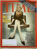 ANN COULTER April 25, 2005 TIME Magazine SEAN PENN / NICOLE KIDMAN / TOM DELAY