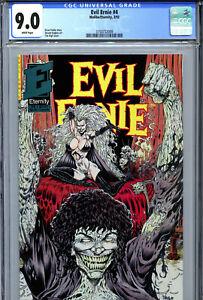 Evil Ernie #4 (1992) Eternity CGC 9.0 White Lady Death