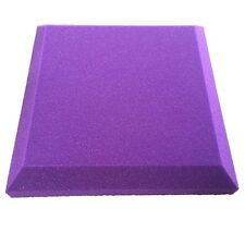 Promo News Acoustic Fireproof Foam Curved Sound-absorption Panel  5pcs in Purple