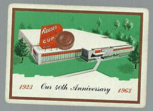 Genuine Swap Vintage Playing Card Advertising 1963