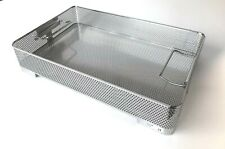GENESIS Sterilization Mid Length Basket BP2-3A Perforated Stainless Steel Tray